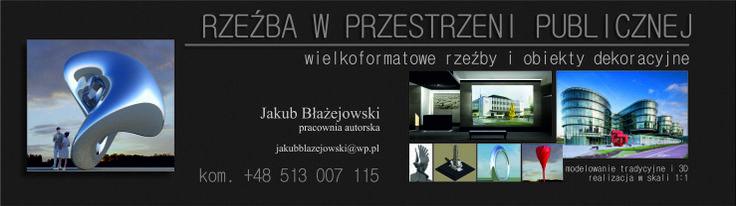 URBAN SCULPTURE - JAKUB BLAZEJOWSKI STUDIO