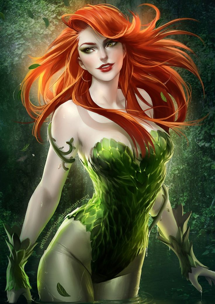 Poison Ivy by Sakimichan