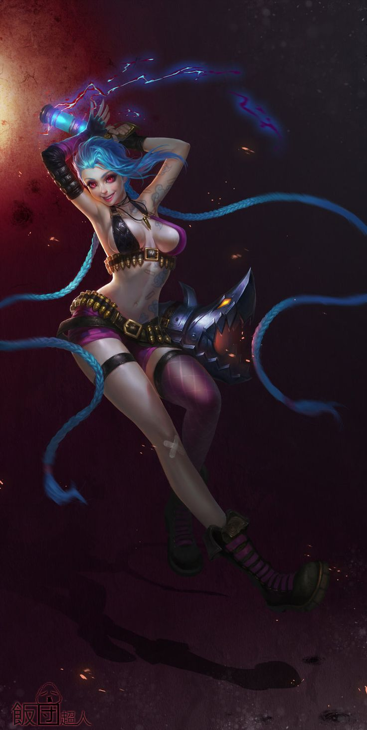 Jinx come on shoot faster