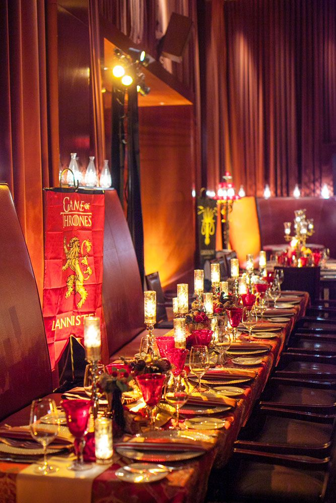 House of Lannister Kings Table //.duncanreyesevents.com/game. Party Decoration IdeasProm ... & 60 best