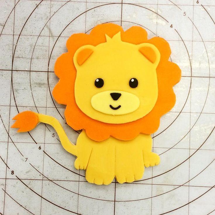 9 Best Lion Cupcakes Images On Pinterest Lion Cupcakes