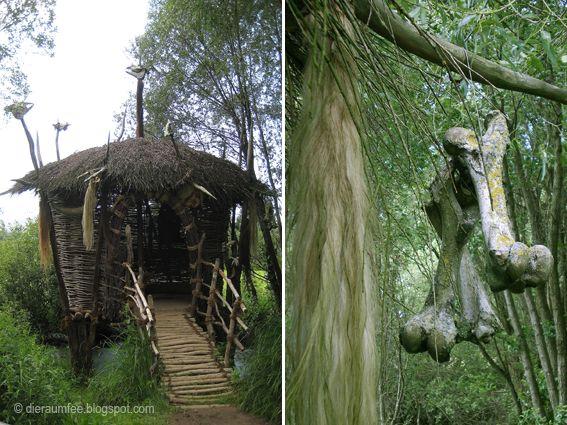 Die Raumfee: Wildgarten in Furth im Wald - Bayerischer Wald
