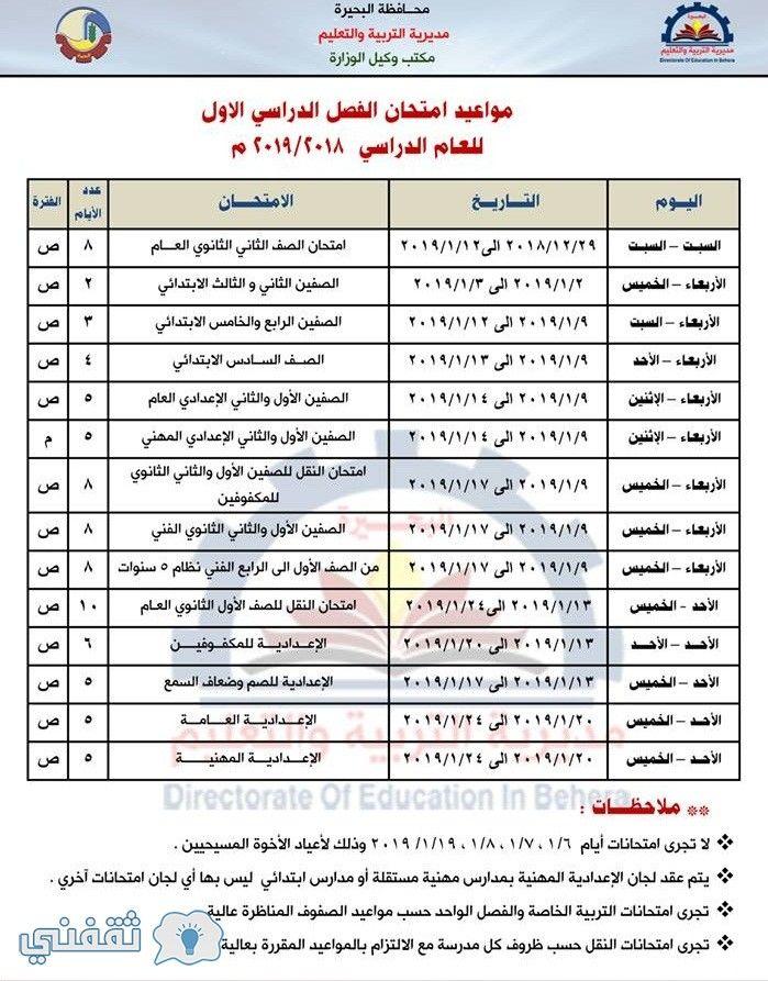 موعد بدء العام الدراسي الجديد 2019 2020 وجداول ومواعيد امتحانات العام الدراسي بجميع محافظات مصر بمراحل التعليم المختلفة Post