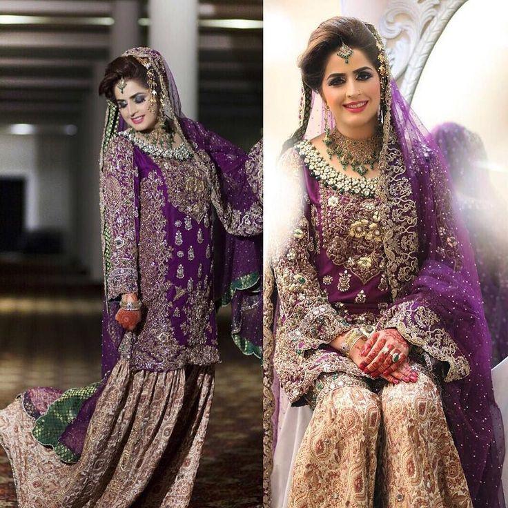 How stunning is Saira in a deep purple#SuffusebySanaYasir #bridal #kundun @suffusebysanayasir by secretclosetpk