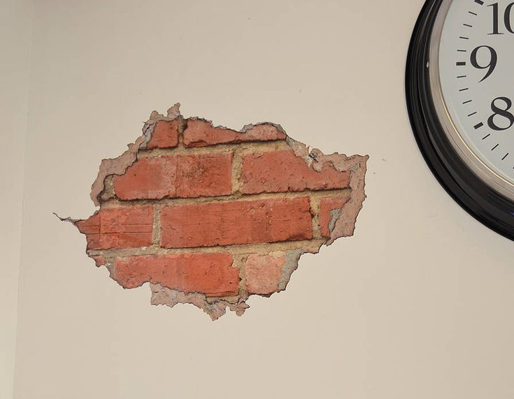 This Photorealistic Wall Sticker Is A Less Permanent Way Of Exposing  Brickwork. Part 77