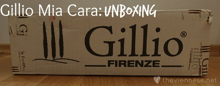 Read about my unboxing experience from Gillio! :)