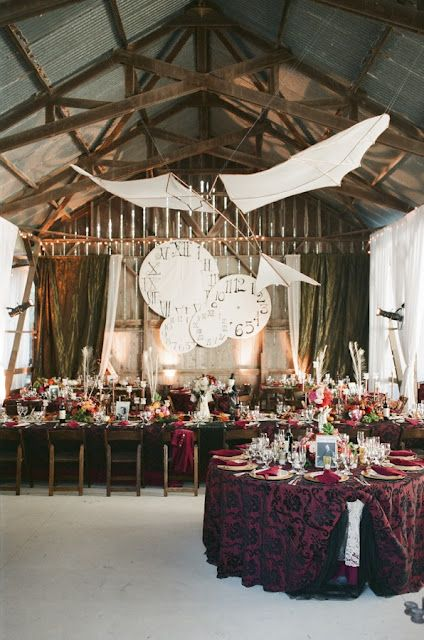 Incredible Steam Punk/Faerie/Victorian Wedding - so many beautiful and unique elements!