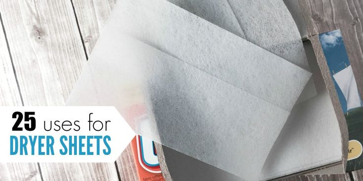 uses for dryer sheets facebook