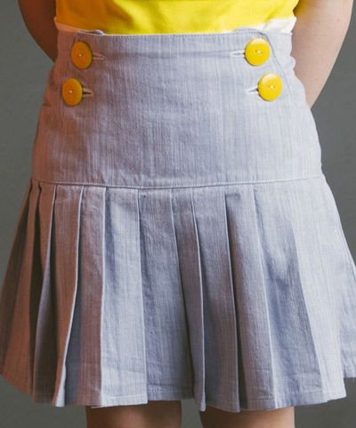 Schoolday Skirt sewing pattern by Blank Slate Patterns | The best sewing patterns for women, girls, toys and more. Go To Patterns & Co.