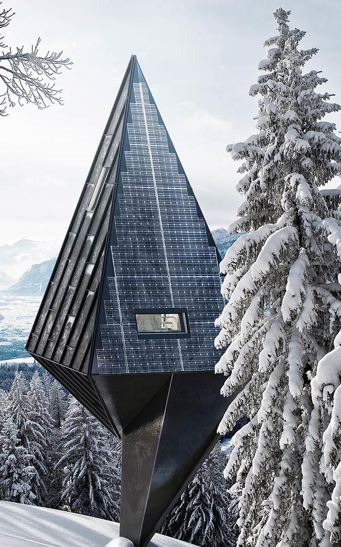 These Zero-Impact Tree-Inspired Houses Will Blend Right Into The Forest | Modernism | modern | modern home | luxury | cool homes | design | architecture