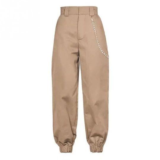 Fashion Women Casual Baggy Harem Pants Hip Hop Sweat Pants Trousers Ankle Banded Slacks pantalones