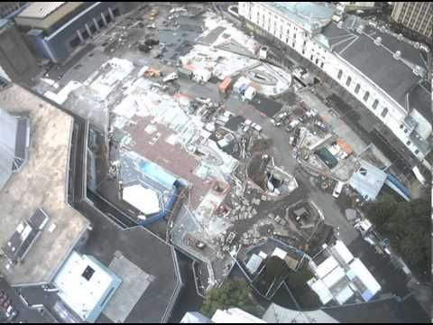 ▶ Time lapse Aotea sq re-roof - YouTube