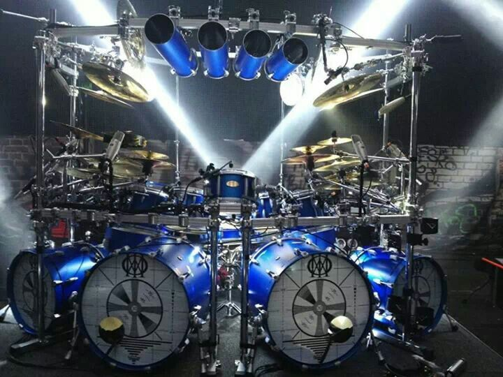 Mike Mangini Pearl #Drums (Dream Theater) #drummer #rock                                                                                                                                                      More