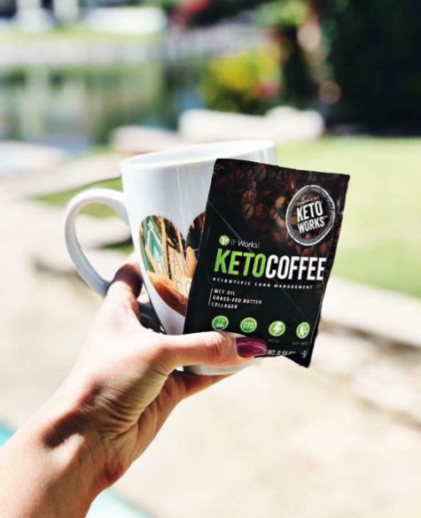There is no better way to start your day than with It Works! Keto Coffee, of course ☕️! Enjoy it on the go or in your home and you'll feel #FitFueledFocused all day long!
