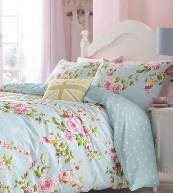 Shabby Beach Cottage Duvet Set