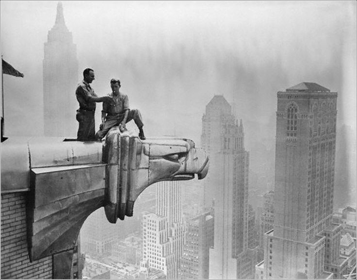 "From ""Lunch Atop a Skyscraper"" series  By Charles C. Ebbets  c.1932"