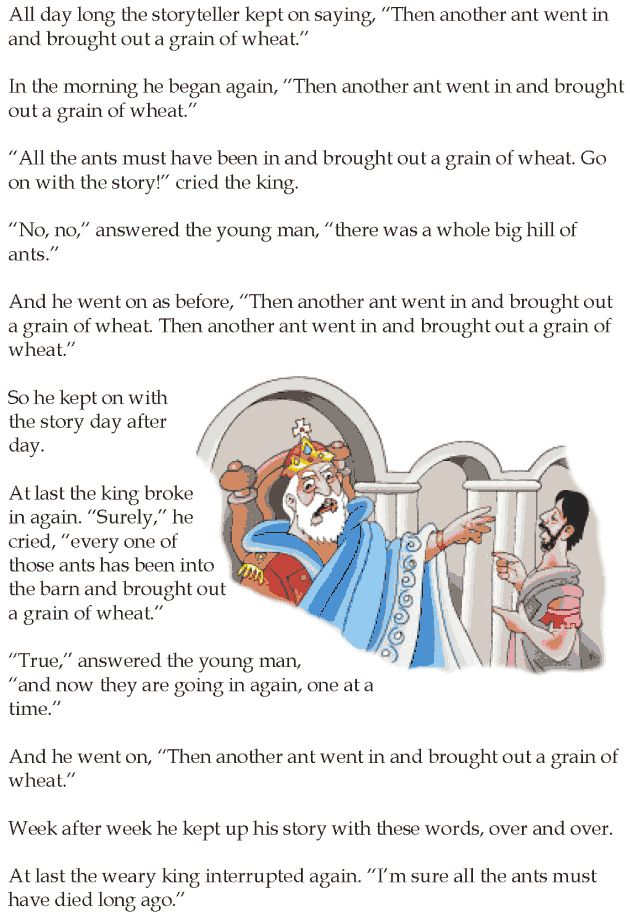 Grade 5 Reading Lesson 23 Short Stories The Story Without