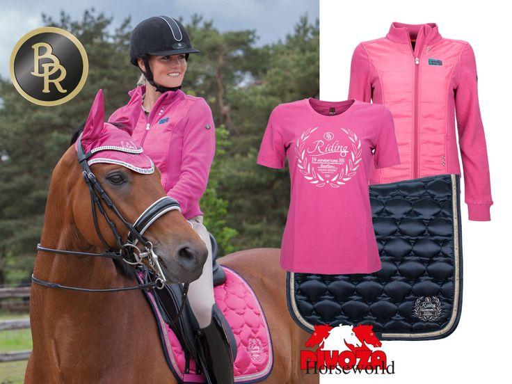 BR collectie voor ruiter en paard, voorjaar 2016 #spring #voorjaar #mode #fashion #ruiter #rider #BR #ruitersport #equestrian #equestriansport #rose #pink #zadeldek #sjabrack #divoza #divozahorseworld