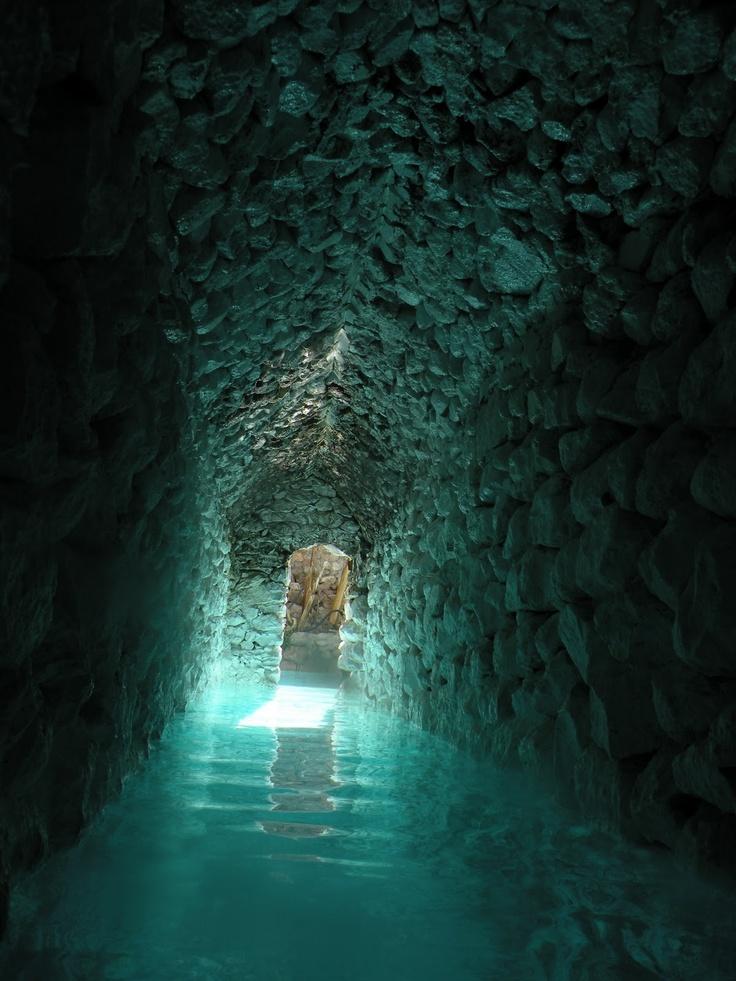 La Gruta Hot Springs outside San Miguel, Mexico in Atotonilco.