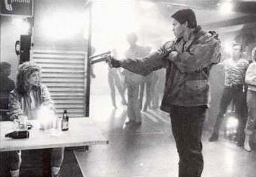 The Terminator & Sarah Connor