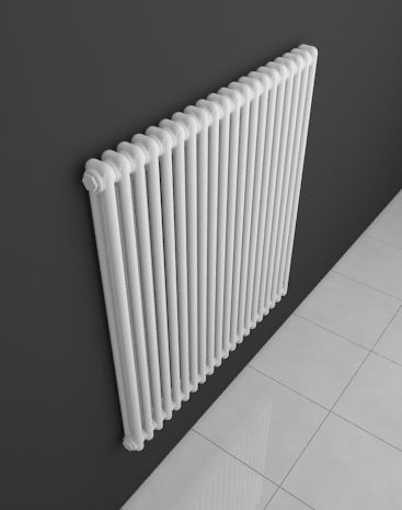 The elegant tubular Aqua II. HOTHOT radiator is made of steel segments. Single segments consist of tubes, whose number is given in the name of the radiator. The Aqua II. radiator means that each segment consists of two tubes.