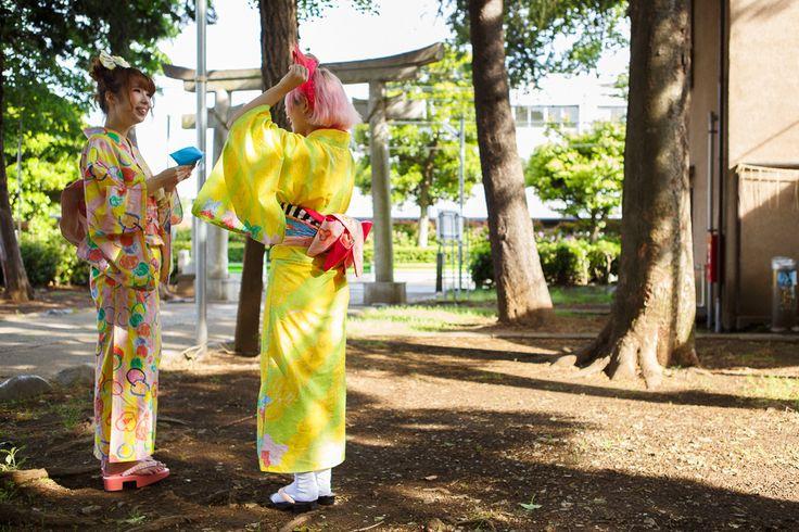Kumamiki | Kumamiki's original Kimono 2013 Summer