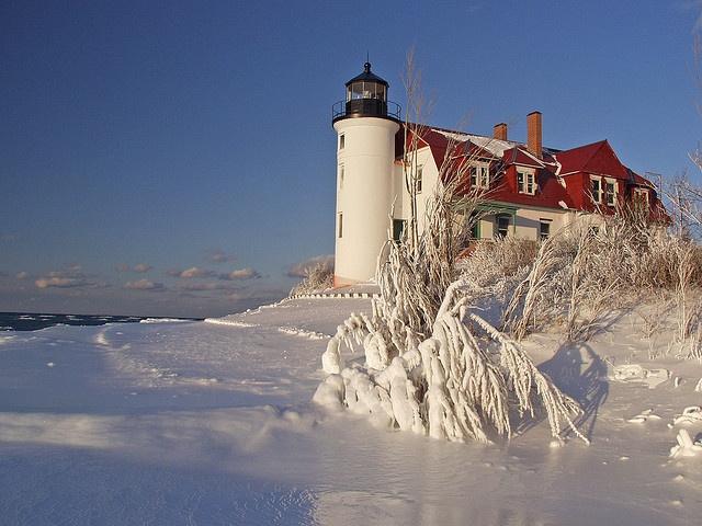 Point Betsie Lighthouse, Michigan