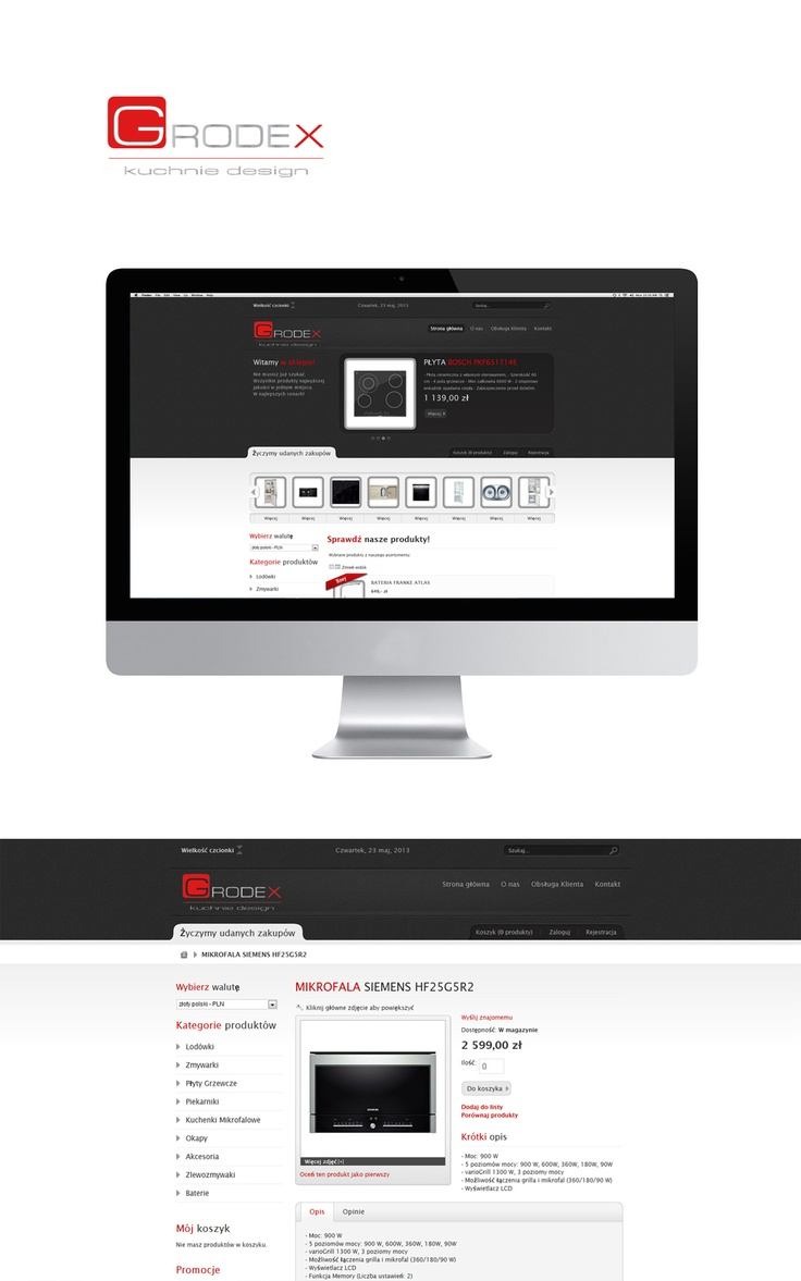 #website #Grodex by #Admind Creative Agency #Crakow www.grodex.com.pl