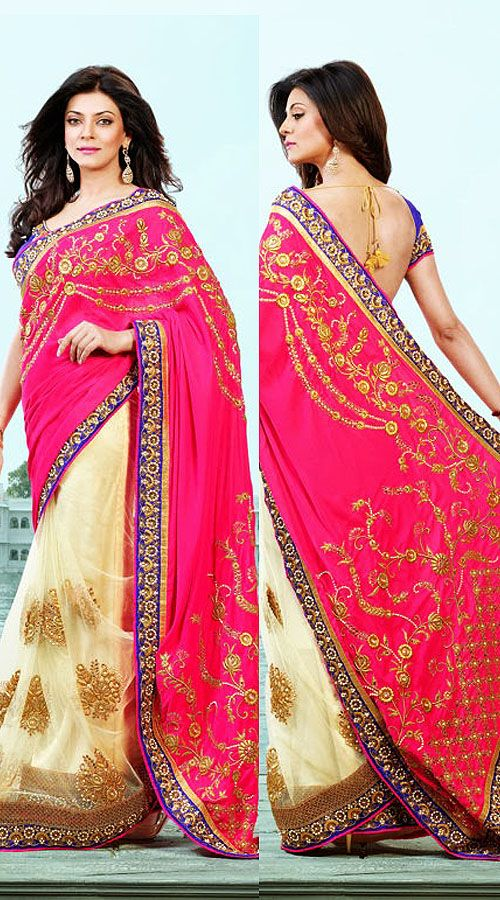 Sushmita Sen Net And Georgette saree RS290305