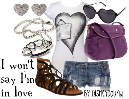 Disney Bound - I Won't Say I'm in Love