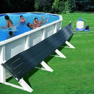 Il modo più ecologico di scaldare l'acqua della tua piscina? Il pannello solare è la risposta!