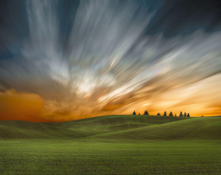 Beautiful Green Fields Under Amazing Skies   2013-09-03-ArtofFarmlandPalouseNo52.jpg