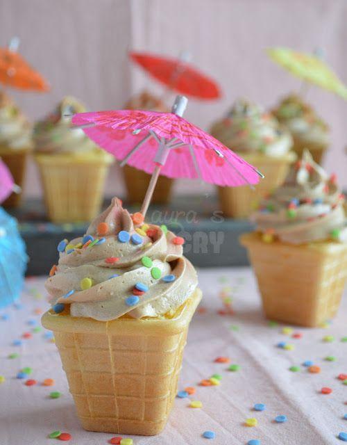 Verjaardags ijsjes! - Laura's Bakery