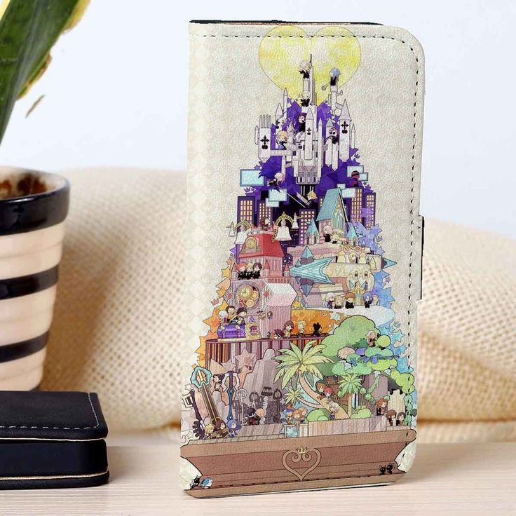 Kingdom Hearts   Video Games Series   Disney   custom wallet case for iphone 4/4s 5 5s 5c 6 6plus case and samsung galaxy s3 s4 s5 s6 case - RSBLVD.COM