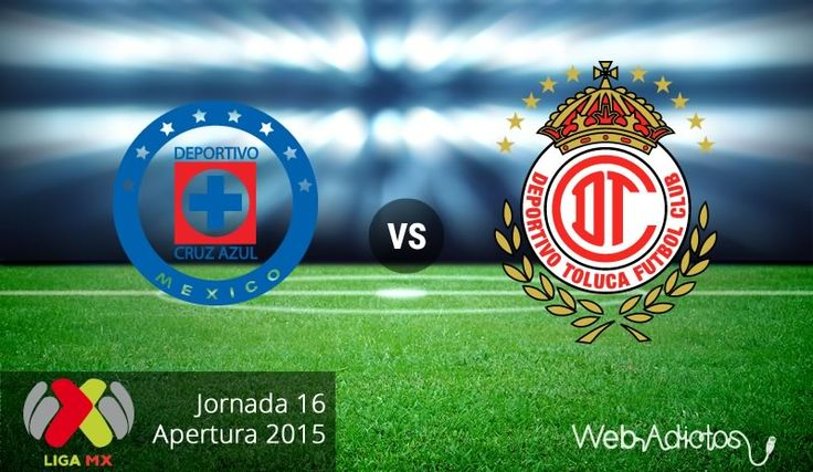Cruz Azul vs Toluca, Jornada 16 del Apertura 2015 ¡En vivo por internet! - http://webadictos.com/2015/11/07/cruz-azul-vs-toluca-apertura-2015/?utm_source=PN&utm_medium=Pinterest&utm_campaign=PN%2Bposts