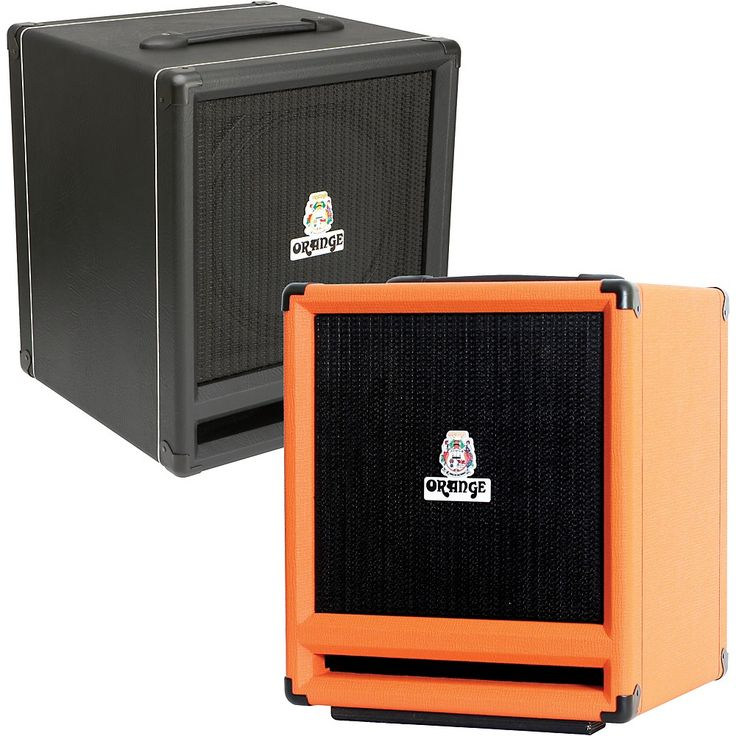 Orange Amplifiers Orange  SP212 600W 2x12 Bass Speaker Cabinet Orange