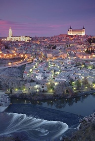 Toledo, Spain is a great town. We stayed in an old Cardinal's home which is now a hotel and took several escalators up to the top of the mountain to visit this UNESCO World History site. It's a must see.