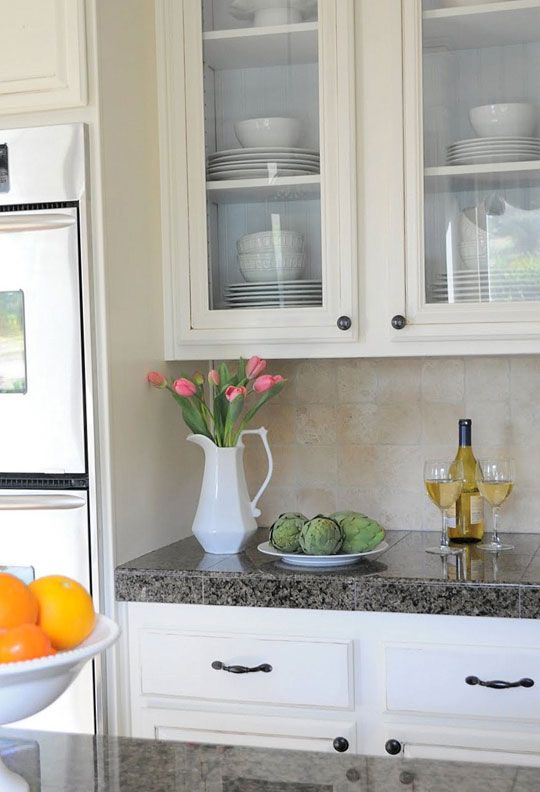DIY - How to install glass in solid cabinet doors.