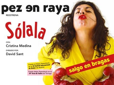 Sólala @ Teatro Principal - Ourense escea escena teatro comedia Cristina Medina