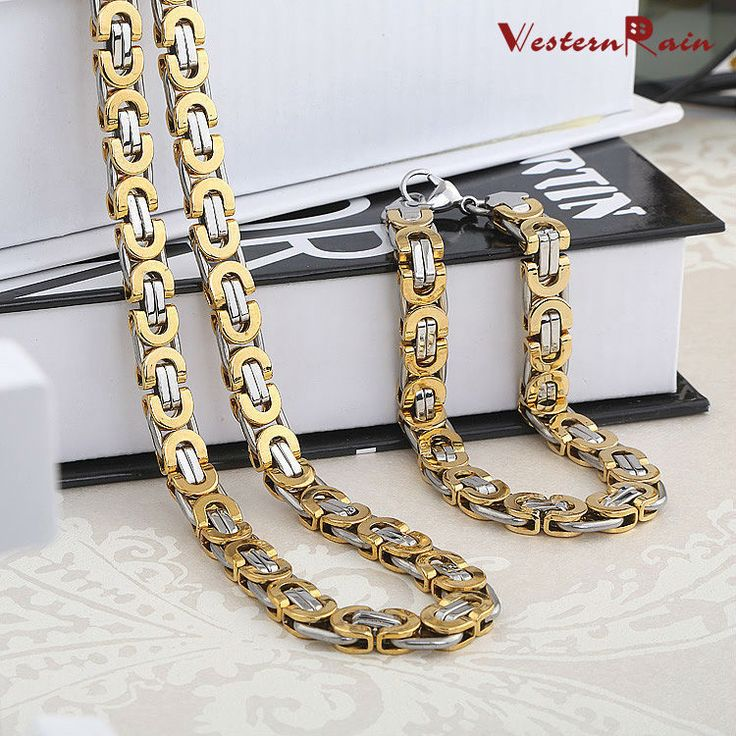 Cheap steel metals, Buy Quality steel directly from China steel fashion Suppliers:  Free Shipping Top Quality Dubai Style Vintage Stainless Steel Men's Bracelets&Necklace Man's Jewelry Sets   fashion