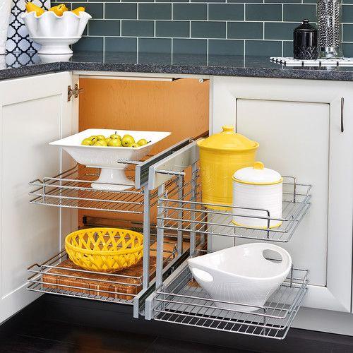 Get Creative With These Corner Kitchen Cabinet Ideas: 25+ Best Ideas About Corner Cabinet Kitchen On Pinterest