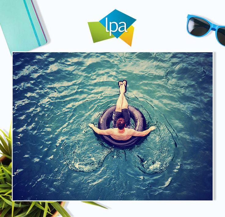 Laze around the pool... relax... enjoy time-off
