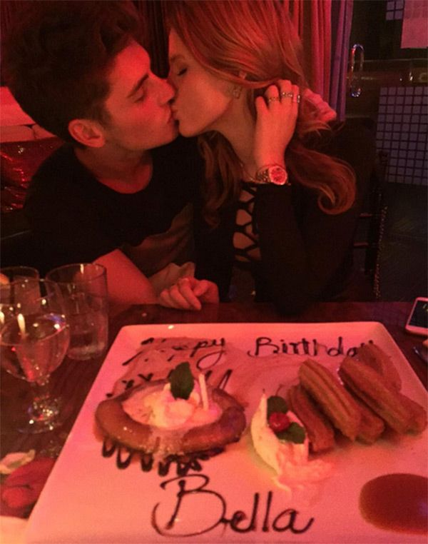 Bella Thorne & Gregg Sulkin Celebrate Her Birthday With Steamy Kiss — See Sexy Pic