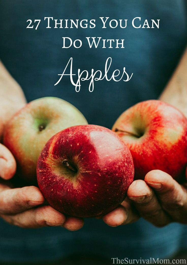 A big list of creative, tasty ideas for you to use up your pile of perfectly ripe apples!