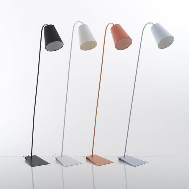Leeslamp in metaal, Pactus La Redoute Interieurs : prijs, mening en score, levering. Zuiver design voor deze hedendaagse leeslamp Pactus : kan zowel in de slaapkamer als woonkamer worden geplaatst. Omschrijving :Fitting E27, vermogen 15W compacte fluo lamp (niet meegeleverd).Compatibel met lampen met energiewaarde : A Eigenschappen :Afmetingen Lampenkap in zwarte of witte stof. Afmetingen :Lampenkap : Ø20 x H49 cmTotale hoogte : 138 cm.