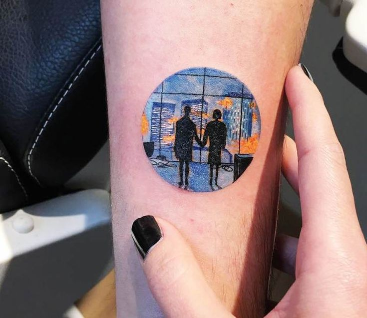 Fight Club tattoo by Eva Krbdk