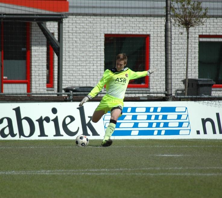 Feyenoord Academy  Bob van der Hoek goalkeeper