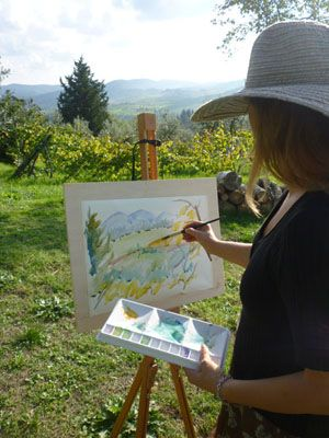 Art Lessons with Watercolour Painting