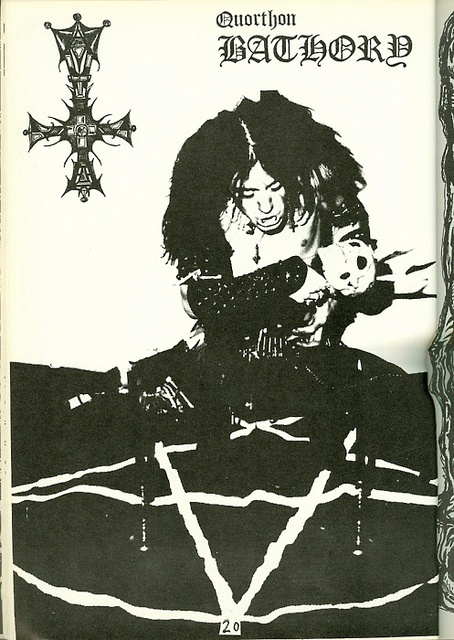Quorthon by Bathory