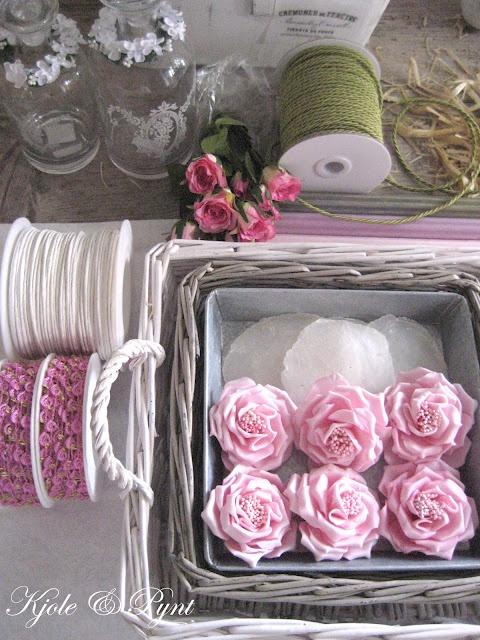 seidenfein 's Dekoblog: rosa Vintage Sonntag : pale pink vintage sunday ..